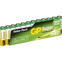 Batteri GP Super AA/LR06 12/FP