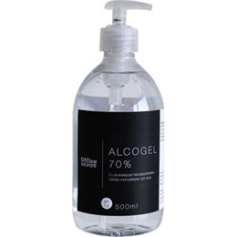 Alcogel 70% pump 500 ml Office Depot