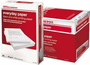 Papper Everyday Xpressbox 80g A4H 2500/fp